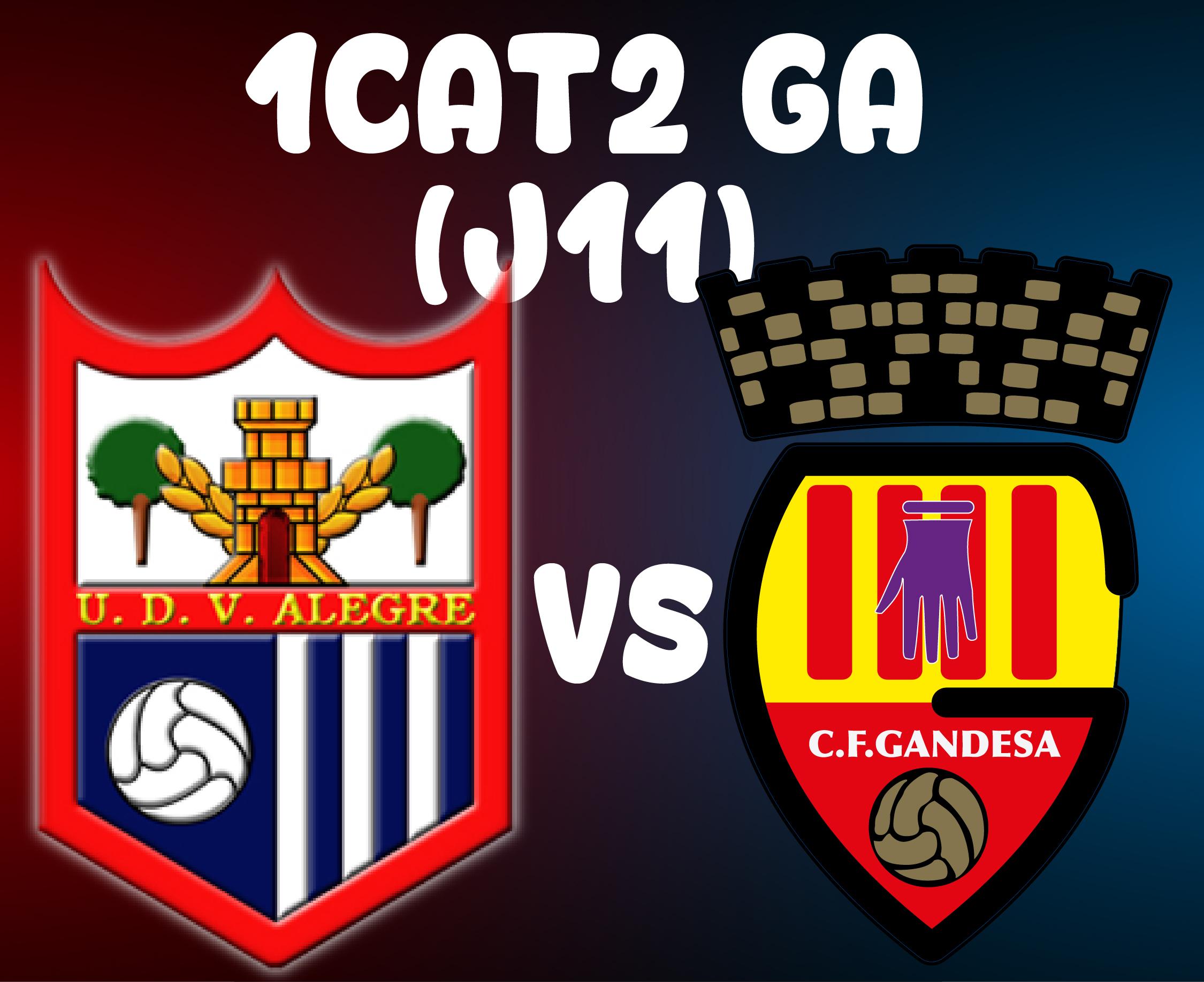 J11 > UD VISTA ALEGRE VS CF GANDESA (A)