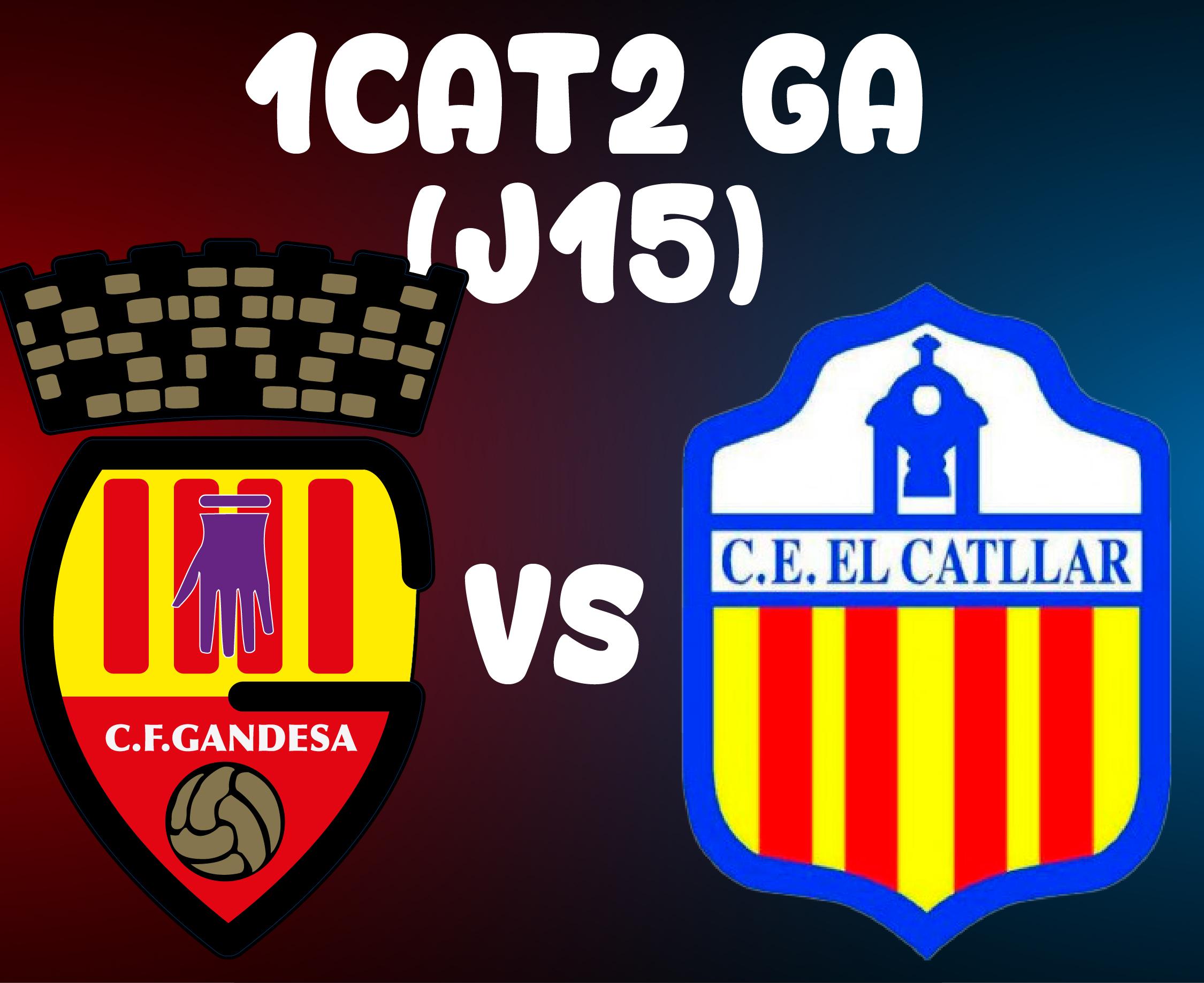 J15 > CF GANDESA A VS CE EL CATLLAR