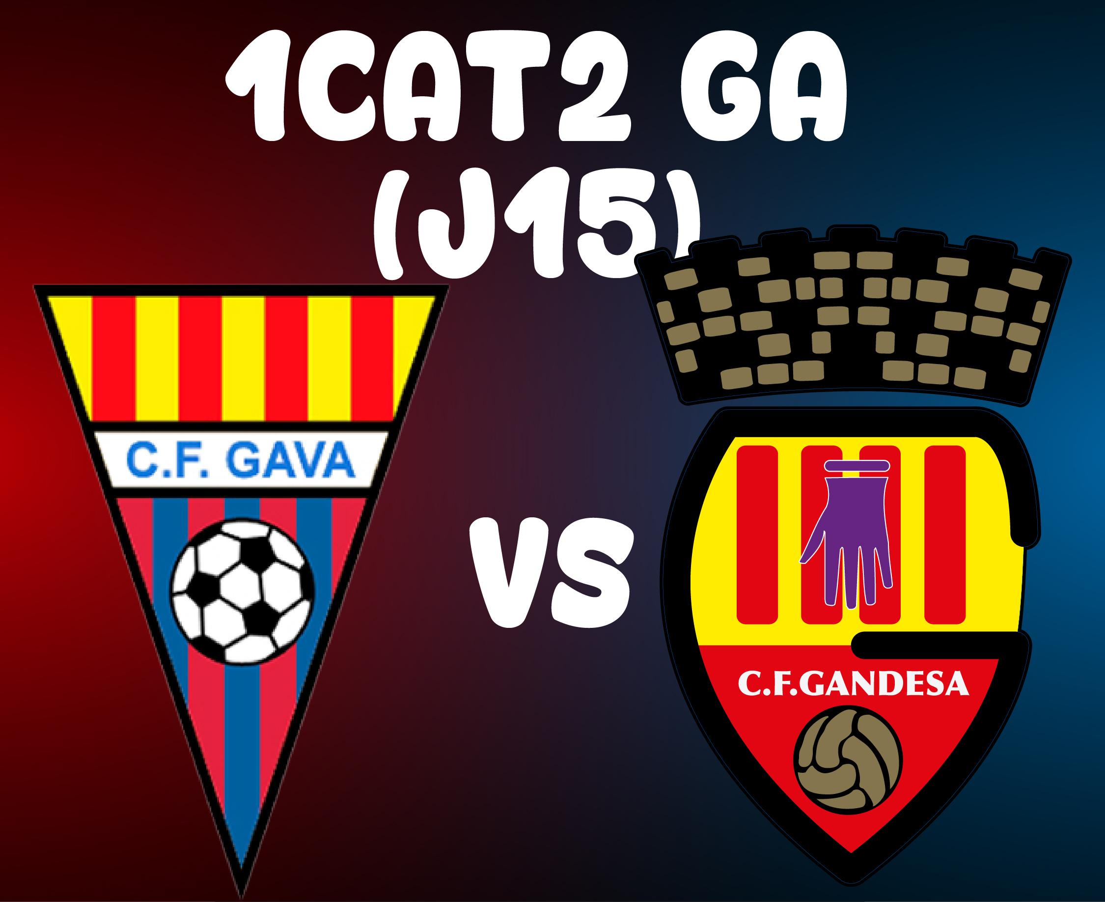 J16 > CF GAVÀ VS CF GANDESA (A)