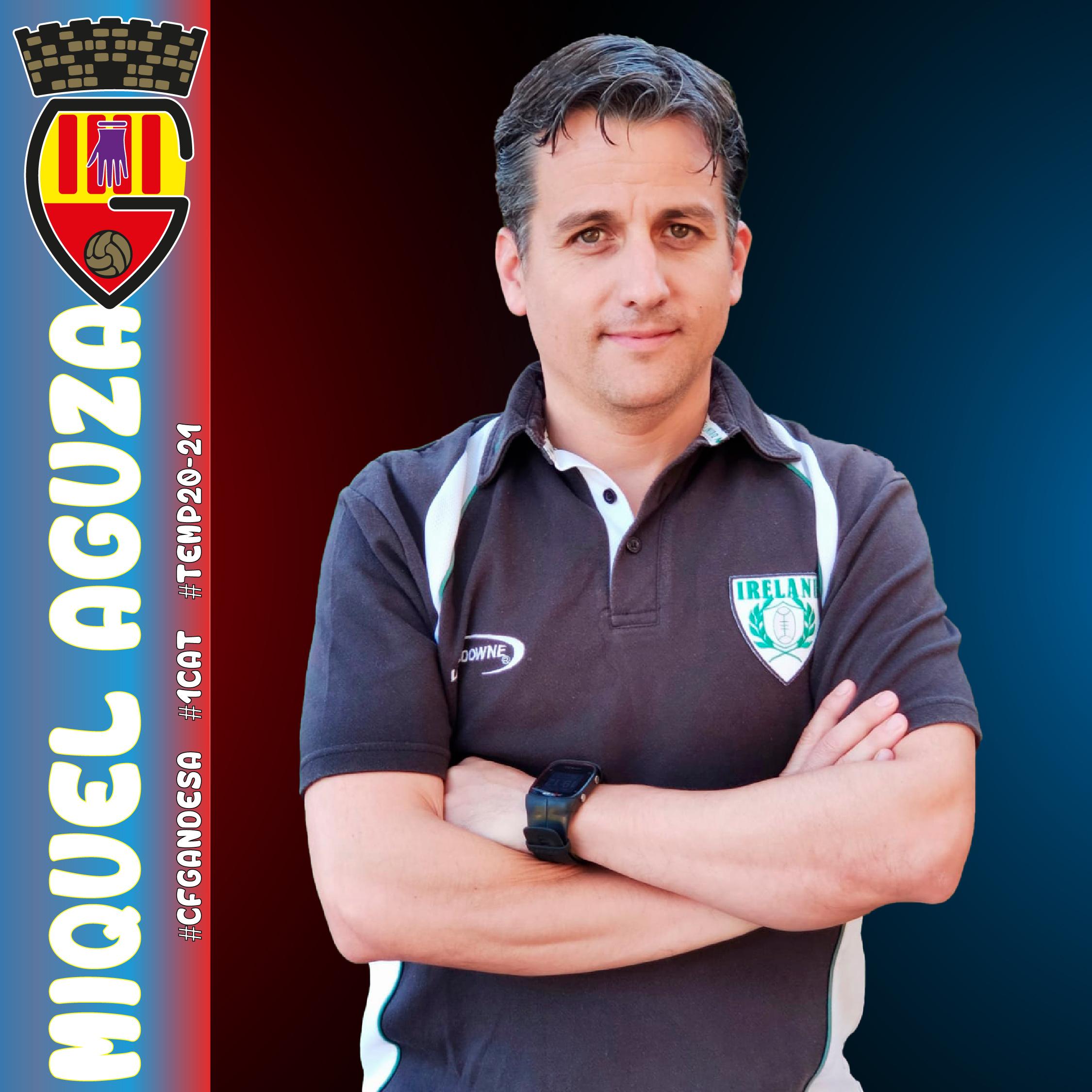 MIQUEL AGUZA SERÀ EL SEGON ENTRENADOR DEL CF GANDESA